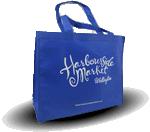 Reusable grocery bag.